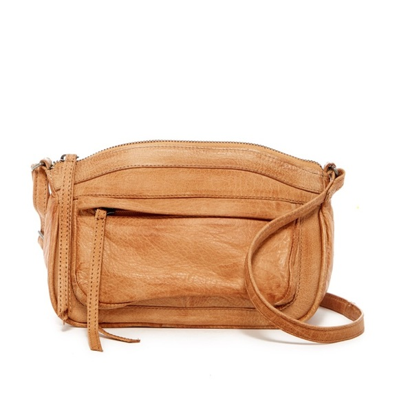 7ed28b5b4adaa Anthropologie Bags | Day And Mood Wendy Leather Crossbody Bag Camel ...